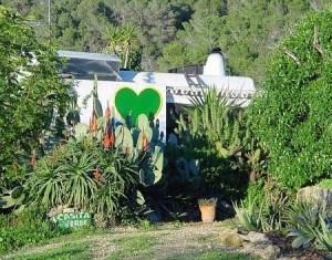 la casita verde en Ibiza