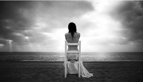 Soledad de mi alma. Foto-arte-blanco-negro-25