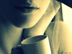 Cafe ( chica) (BLOG) pie