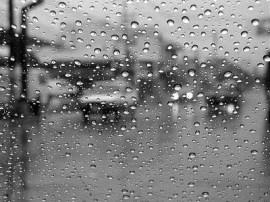 Amanecer lluvioso