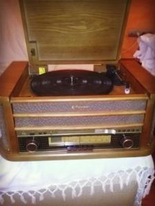 reproductor de música vintage