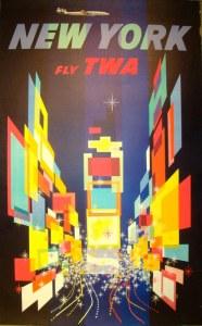 cartel nueva york vintage