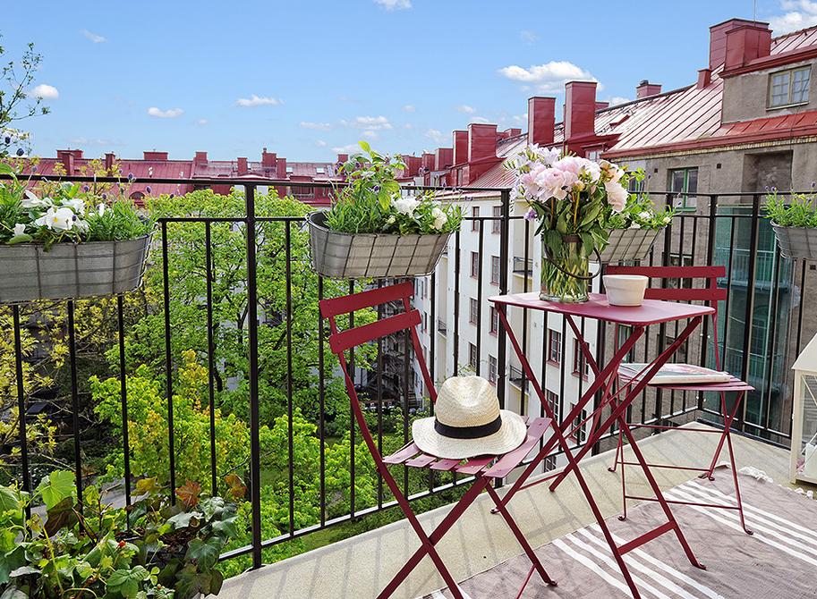 Decorando mi peque o balc n la ciudad de elena - Decorar balcon pequeno ...
