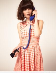 auricular retro para móviles