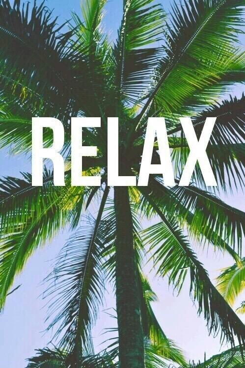 relax, palmera